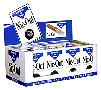 Nic-Out Cigarette Filters For Smokers 30 Filters - 20 Packs Wholesale
