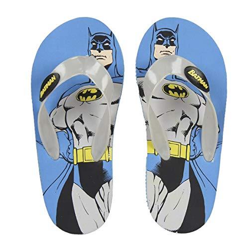 Batman S0711623, Flip flop Mixte Enfant, Bleu, 27 EU