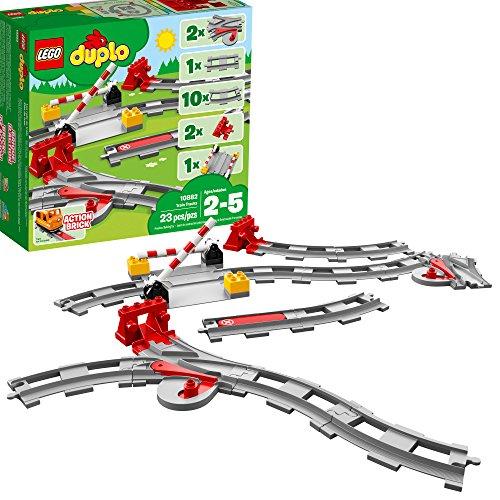 LEGO Duplo 10882 - Eisenbahn Schienen Erweiterungsset (23 Teile) - 2018