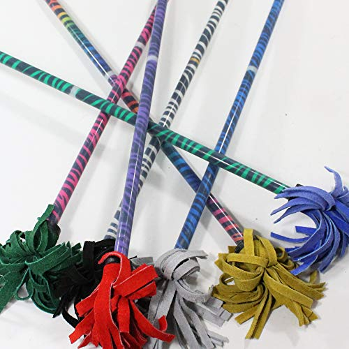Find Bargain Z-Stix Flower Juggling Stick- Devil Stick- Zebra Series- Choose The Perfect Size (Bansh...