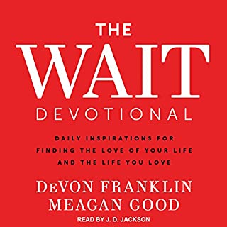 The Wait Devotional audiobook cover art