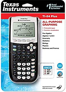 Texas Instruments TI-84 Plus Graphing Calculator, Black (B0001EMM0G) | Amazon price tracker / tracking, Amazon price history charts, Amazon price watches, Amazon price drop alerts