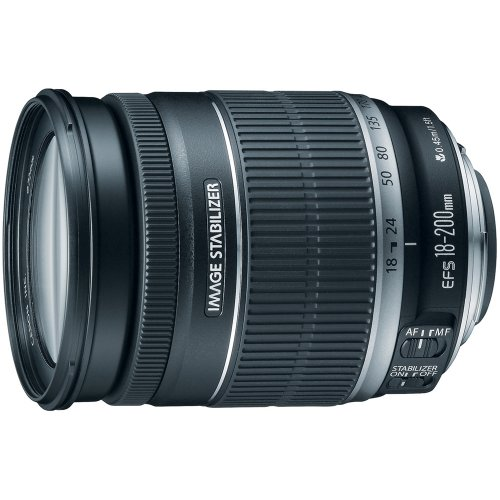 Canon EF-S 18-200mm f/3.5-5.6 IS Standard Zoom...