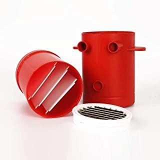 TAOHOU Fries Potatoes Maker Slicers French Fries Maker para Jiffy Fries Cutter Machine Red