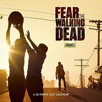 Trends International 2017 Wall Calendar September 2016 - December 2017 11.5  x 11.5  Fear The Walking Dead  Amc Series