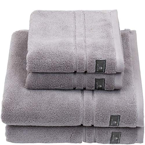 GANT Premium Terry Badetuch 100x150 Sheep Grey