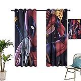 Cortinas modernas estampadas para dama, se utilizan en la sala de estar, dormitorio de tablero mejorado de 132 x 183 cm
