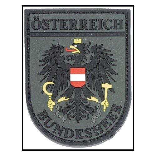 3D-Patch Ärmelabz. Österreich Bundesheer olive drap fullcolor