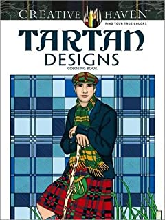 Creative Haven Tartan Designs Coloring Book (Creative Haven Coloring Books)