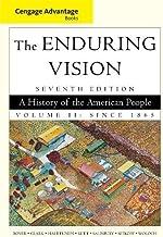 Cengage Advantage Books: The Enduring Vision, Volume II: 2