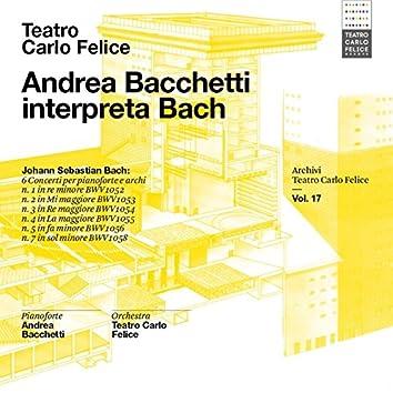 Archivi del Teatro Carlo Felice, volume 17; Andrea Bacchetti plays Bach