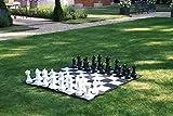 DGHJK Juego de ajedrez de jardín con tapete de Nailon para Tablero de ajedrez Desarrollo de reuniones Familiares de Entretenimiento Intelectual