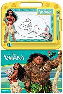 Phidal Disney Vaiana Écrire et Dessiner, Français, Multicolore
