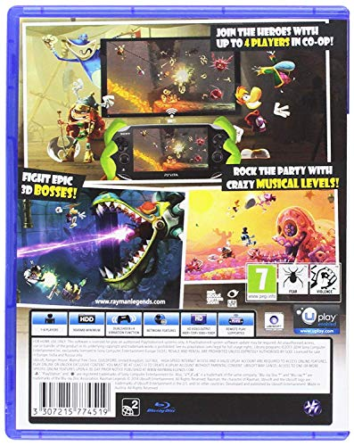 Rayman Legends (PS4) (Limited Edition)