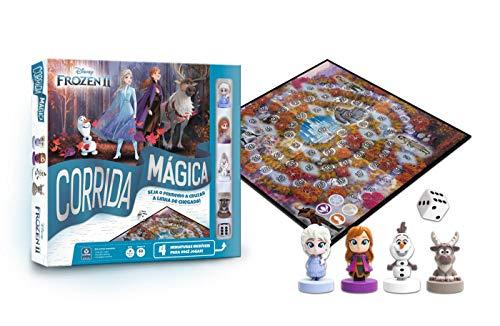 Corrida Mágica Frozen 2, Estampado, Copag
