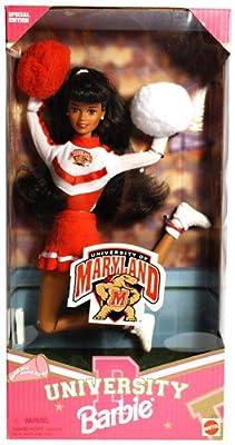 Maryland University Barbie Cheerleader African-American