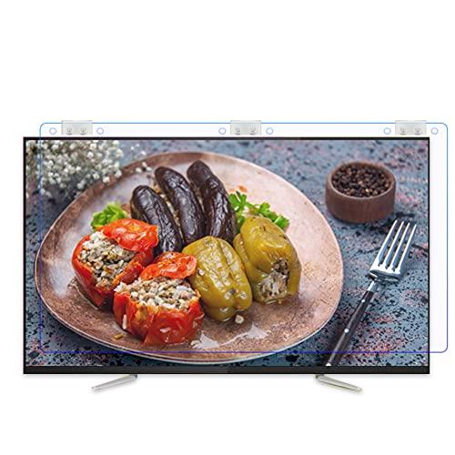 WSHA Protector de Pantalla de luz Azul de 32'-43' Protector de Pantalla de TV Anti-arañazos Anti-UV, sin Huellas Dactilares, protección para los Ojos, para LCD LED Plasma 3D HDTV,42 Inch(950x561mm)