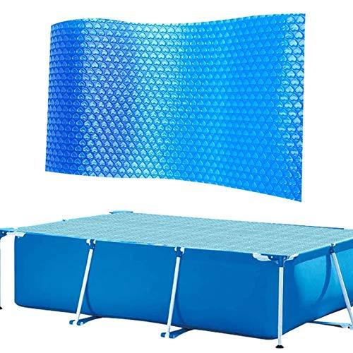 yamysalad - Cubierta solar rectangular para piscina, 260 x 160 cm, antievaporación,...