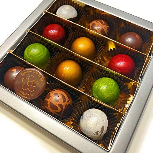 Eat to Fit Sweet Mix Pralinen zuckerfreie Schokoladen Box12er Ohne Zucker diabetiker Schokoladen