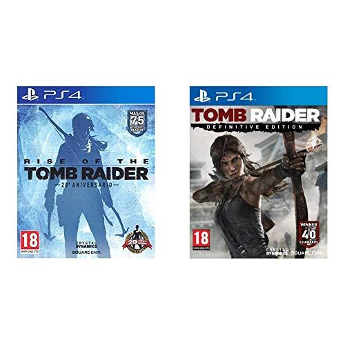 Rise Of The Tomb Rider: 20 Aniversario + Tomb Raider: Definitive Edition