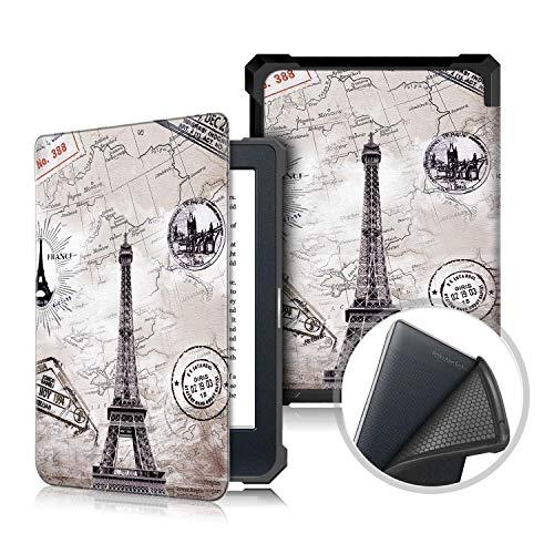 Kobo Nia 2020 6.0' Flip Funda, Heavy Duty Estuche Ultra Case Cuero PU Billetera Cover Carcasa Cierre Magnético Caso Tapa Cubrir Shell para Kobo Nia 2020 6.0 Inch 2020 Tablet PC (Torre)