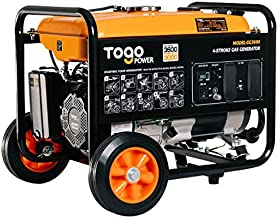 TogoPower Portable RV Generator,3600 Peak Watts 120 Volts Gasoline Powered-Portable Power Station Generator for Home Back Up & RV Ready
