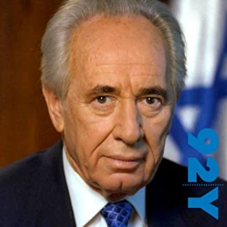 Shimon Peres and Michael Bar-Zohar at the 92nd Street Y cover art