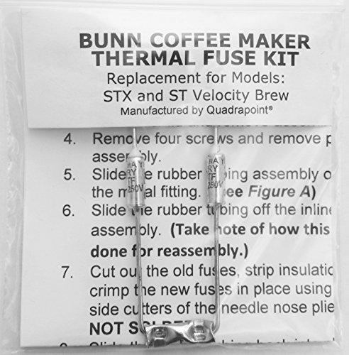 Reparieren Sie Ihre Bunn Kaffeemaschine, Wasser nicht erhitzen? Thermo-Sicherungsgeschirr (STX und ST Velocity Brew)