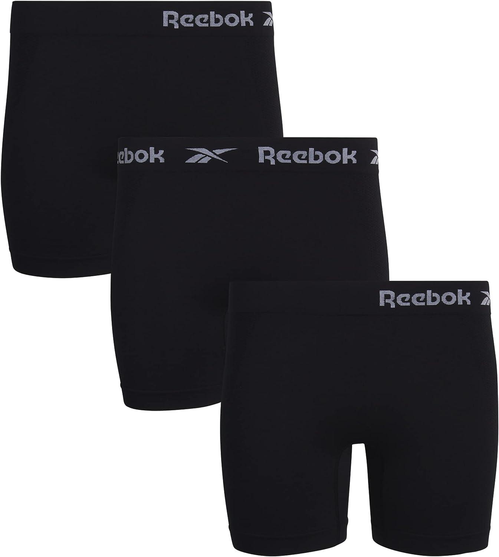 Reebok Women's Underwear – Plus Size Seamless Boyshort Panties (3 Pack) : Clothing, Shoes & Jewelry