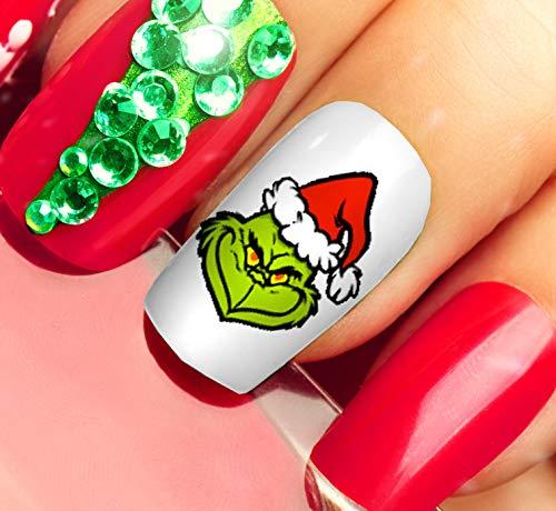 Calcomanías para uñas de The Grinch Who Stole Christmas