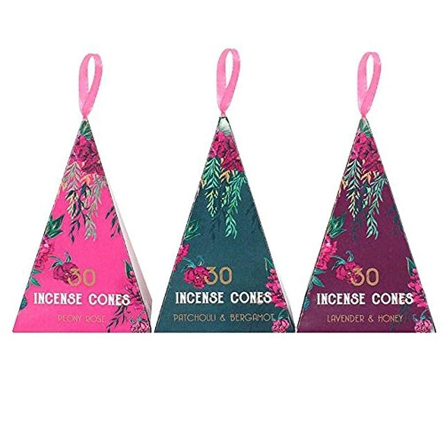 仲間偏心復讐Luxury Oriental Flight 3Pack Of 12 Incense Cones Pack Of 12