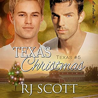 Texas Christmas                   By:                                                                                                                                 RJ Scott                               Narrated by:                                                                                                                                 Sean Crisden                      Length: 4 hrs and 22 mins     14 ratings     Overall 4.7