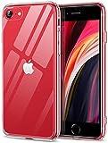 ESR Cover Compatibile con iPhone Se 2020,8, Retro in Vetro Temperato Anti Graffio E...