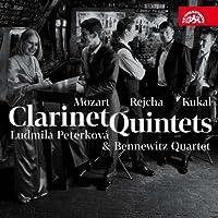 Mozart; Rejcha; Kukal: Clarinet Quintets by Ludmila Peterkova (2011-11-22)