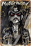 Motorhead Blechschild Wanddekoration Metall Poster Retro