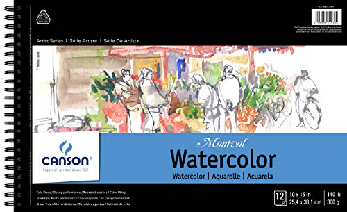 Canson Montval Watercolor Pad