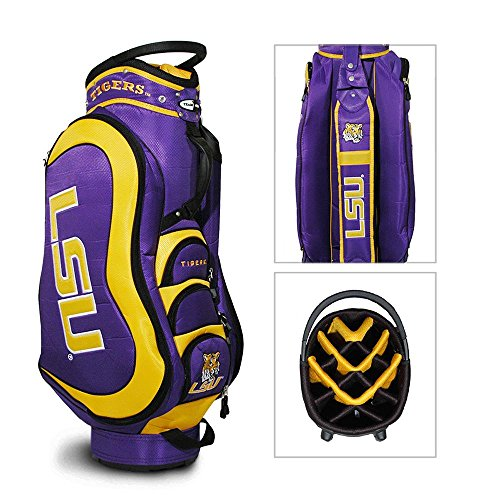 Purchase TEAM GOLF LSU TIGERS MEDALIST GOLF CART BAG