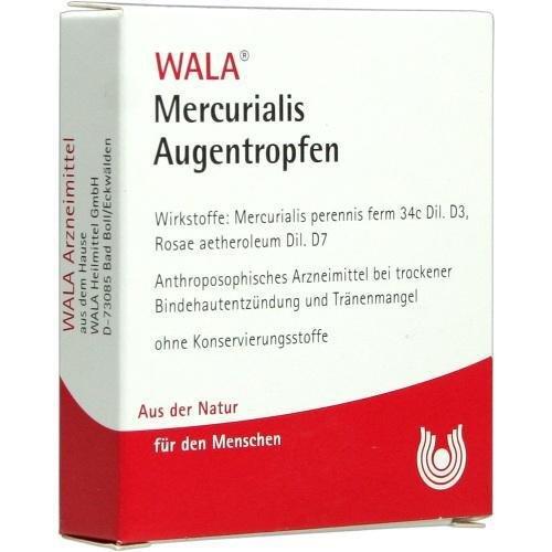 MERCURIALIS AUGENTROPFEN 5X0.5ml Augentropfen PZN:1448317