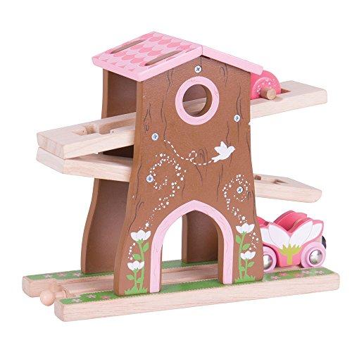 Bigjigs Rail Wooden Pixie Dust Tree House - Wooden Train Set Accessories