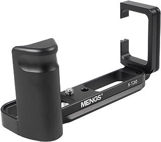 """[MENGS] X-T20 L型クイックリリースブラケット 1/4""""ネジ L字型のクイックリリースプレート Arca-Swiss標準と互換性, Fujifilm カメラ用"""