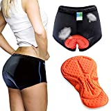 Twotwowin Women's 3D Padded Cycling Underwear...