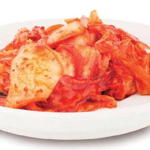 白菜キムチ (1kg)【唐辛子粉・イカ塩辛・白菜】