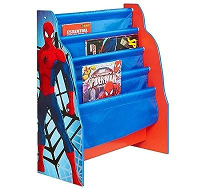 Marvel Spider-Man Kids Sling Bookcase - Bedroom Storage by HelloHome
