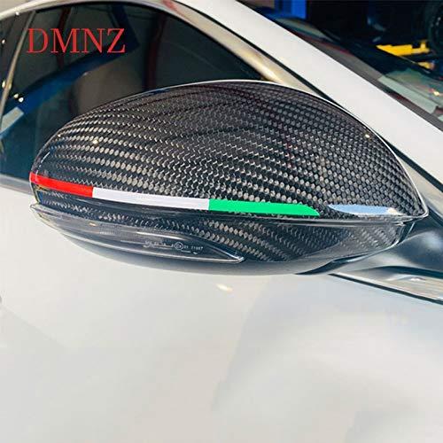 HUNSHA Car specchietto retrovisore decorazione ghirlanda adesivo Per