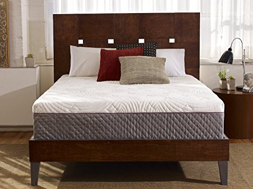 Sleep Innovations Shiloh 12-inch Memory Foam Mattress, Bed in a Box, Quilted Cover, Made in The USA,...