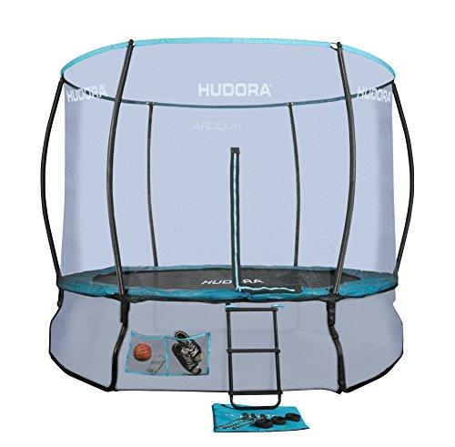 HUDORA Fantastic Complete Trampolin/Gartentrampolin, mit Sicherheitsnetz, 300 cm, 65734
