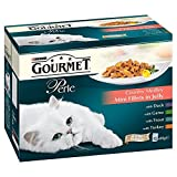 Purina Gourmet Perle Country Medley Mini Fillets in Jelly - Pouch (12x85g) - Pack of 2