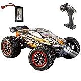 VATOS RC Auto Ferngesteuertes Auto 1:12 4WD 2,4 GHz 46 km / h RC Auto Hochgeschwindigkeits-Geländewagen Elektrorennwagen Buggy Fahrzeug Spielzeugauto für Erwachsene und Kinder