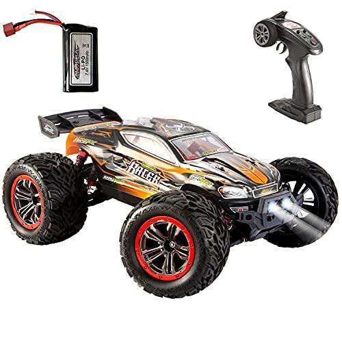 VATOS RC Auto Ferngesteuertes Auto 1:12 4WD 2,4 GHz 46 km / h RC Auto Hochgeschwindigkeits-Geländewagen Elektrorennwagen Buggy Fahrzeug Spielzeugauto für Erwachsene und Kinder (9156) (9156 New)