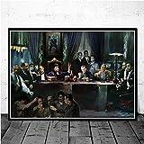 Impresiones de Carteles Regalo Película clásica Goodfellas Gangster Padrino Arte Lienzo Pintura Cuadros de Pared Decoración para el hogar 40x50 cm C-829